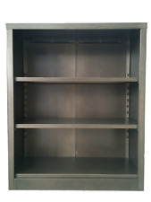 3 Shelf Steel Bookcase - Antique Bronze