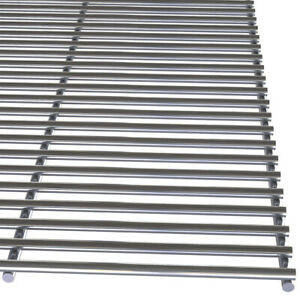 Rib Stainless Steel Barbecue Rack BBQ Grill Rack Cooking Wire Mesh Grate 70x47cm