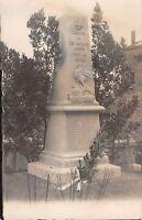 CPA 69 BAGNOLS CARTE PHOTO DU MONUMENT AUX MORTS