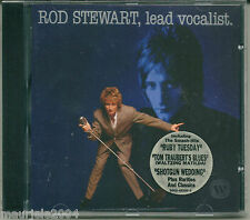 Rod Stewart. Lead Vocalist (1993) CD NUOVO Jeff Beck Group. Faces. Stay With Me