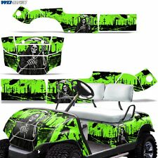 Yamaha Golf Cart Graphic Kit Decal Sticker Parts 2 Seater Wrap 95-06 REAP GREEN