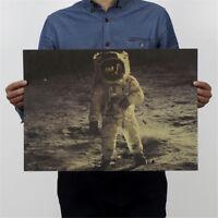 der Apollo Mond Landung Poster Retro Kraftpapier Schmuck Film Poster HMDE