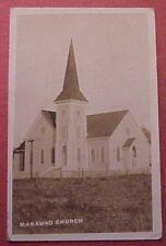 1912 Old Makawao Union Church Built 1889 Palilui HP Baldwin Maui TH Hawaii RPPC