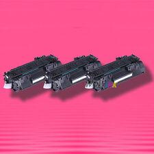 3 Non-OEM Alternative TONER for HP CE505A 05A LaserJet P2055d P2055dn P2055x
