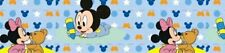 "7/8"" 2Yard Baby Minnie Mickey Mouse Grosgrain Ribbon Bows Crafts Cards Gift Wrap"