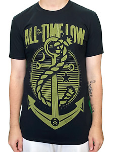 All Time Low Hold Down Unisex Official T Shirt Brand New Various Sizes