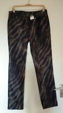 HOCHWERTIGE ZERRES TINA JEANS HOSE Gr. 36 N grau schwarz Muster *NEU*79,95€ | eBay