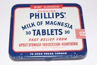 Vintage Phillips Milk of Magnesia Tablets Tin