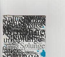 SPLUNGE- Sub Pop US promo cd album Nirvana etc