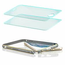 2x Schutz Glas + Aluminium Bumper für Apple iPhone 6S Schutz Hülle Handy Tasche