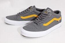 Vans TNT SG Pewter Gray Sunflower Mens Size 7 New In Box Skate Shoe
