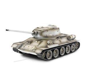 Torro 1/16 RC Panzer T34/85 BB 1111900401 Professionnel Métal Édition