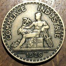 PIECE DE 2 FRANCS COMMERCE 1926 (516) RARE !!!