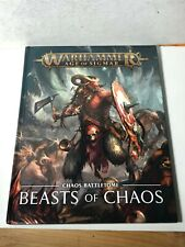 Warhammer Beastmen Beasts of Chaos Battletome Age of Sigmar CURRENT Hard Cover