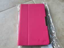 GearIt DELL VENUE 8 TABLET 360 Rotating Case Book HARD Cover Case HOT PINK