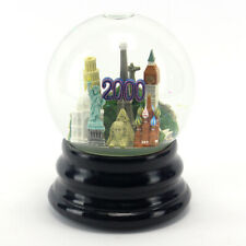 Rare Saks Fifth Avenue 2000 World Millennium Musical Snow Globe (Retired)