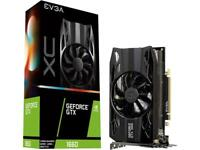 EVGA GeForce GTX 1660 XC GAMING, 06G-P4-1163-KR, 6GB GDDR5, HDB Fan