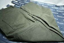 NEW DESIGNER JEANS Gardeur 36 X 30 GREEN BILL  97% Cotton Flex Modern FIT $235
