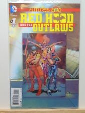 Red Hood and the Outlaws #1 Futures End Lenticular D.C. Universe Comics  CB5079