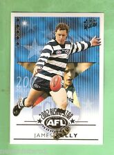 2003  XL ULTRA AFL CARD - 2002 RISING STAR RSN12 JAMES KELLY, GEELONG CATS