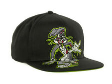 Looney Tunes Bugs Bunny Slimed Silly Rabbit Snapback Flat Bill Brim Hat Cap Lid