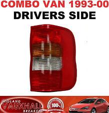 OPEL Combo Furgoneta Diesel trasero controladores de luz de fondo de lado derecho