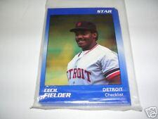 1990 Star Co. CECIL FIELDER 11 card sealed set - Tigers