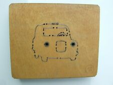 """Accucut small British Taxi wooden die (1"""" / 2.5cm thick) - T1165S"""