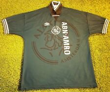 ajax amsterdam holland dutch football extra large mans vintage 1995 away shirt