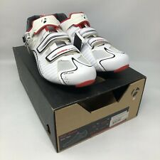 NEW Bontrager RXL Road EU 46 US 13 White Carbon Cycling Shoes MSRP $285