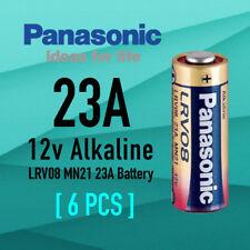Genuine 6x Panasonic A23 Alkaline Remote Batteries 12V LRV08 MN21 23A Battery