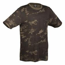 TEE SHIRT MANCHES COURTES CAMOUFLAGE MULTITARN BLACK TAILLE M
