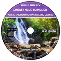 Sensory Music Sounds Therapy Autistic Spectrum Soothing Relaxing Calming CD