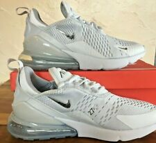 MENS Nike Air Max 270 TRAINERS SIZE UK 8.5 LIGHT.GREY/SILVER. 100% AUTHENTIC.NEW
