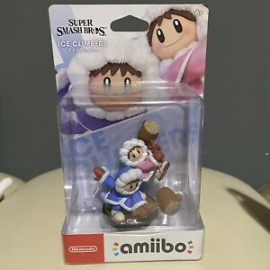 Nintendo Amiibo Super Smash Bros Ice Climbers Popo Nana New