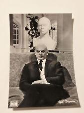 Cartolina attori Yul Brynner 10,3x14,8cm