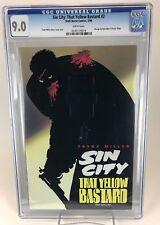 Sin City: That Yellow Bastard # 2 Cgc 9.0 Vf/Nm (1996 Dark Horse) Wp