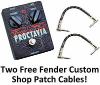 New Voodoo Lab Proctavia Octave Fuzz Guitar Effects Pedal! Voodoo Labs!