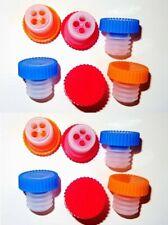2er Set Flaschenverschlüsse Stopfen Flaschenpfropfen Kunststoff