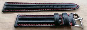 OMEGA REDUCED SPEEDMASTER SCHUMACHER CINTURINO WATCH STRAP mm.18 + BUCKLE