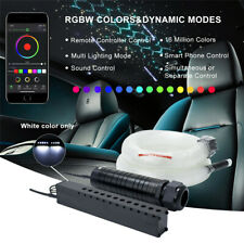 Car Roof Ceiling Fiber Optic Star Shooting Meteor Lights Bluetooth APP Control
