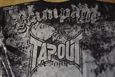 RAMPAGE TAPOUT SHIRT SIZE 2XL RARE TSHIRT UFC MMA PRIDE FIGHTING QUINTON JACKSON