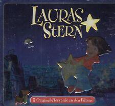 Lauras Stern - 3 Original-Hörspiele zu den Filmen (3-CD-Box, NEU! OVP)