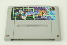 Rockman X2 Megaman SNES CAPCOM Nintendo Super Famicom From Japan