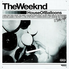 Brand New! House of Balloons by The Weeknd (Double LP Vinyl) Aug-2015 - EXPLICIT
