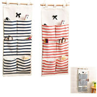 FT- 5/6/8 Pocket Wall Hanging Bag Door Holder Shoe Rack Storage Organizer Closet