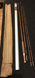 Vintage F.E. Thomas Special Bamboo Fly Rod 9'0 3/2 Bamboo Rod With Thomas Tube