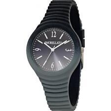 Orologio Donna MORELLATO COLOURS R0151114593 Silicone Grigio Nero NEW
