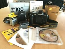 Nikon D100 6.1MP Digital SLR Kit, with Extras and Original Packaging