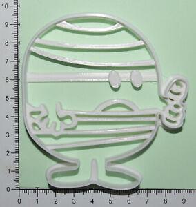 Mr Men Mr bump Cookie or fondant  Cutter 3d printed